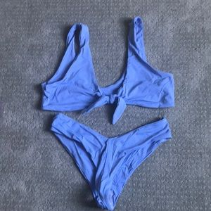 Dippin Daisies knot front cheeky bikini